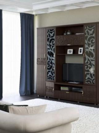 Модульная гостиная «Ирис» Дуб Тортона