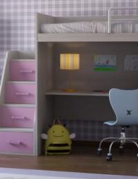 Кровать чердак Ева комп.1