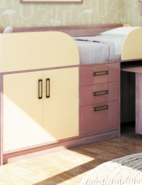 Детская «Престиж 3» №35 Кровать чердак многофункц-ая