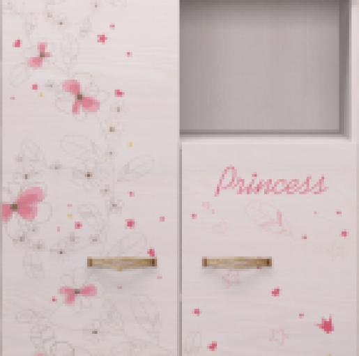 Шкаф комбинированный 14 «Принцесса»