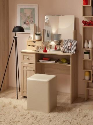 Столик туалетный без зеркала «Sherlock» дуб сонома