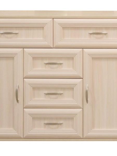 Комод № 166 с ящиками и дверьми