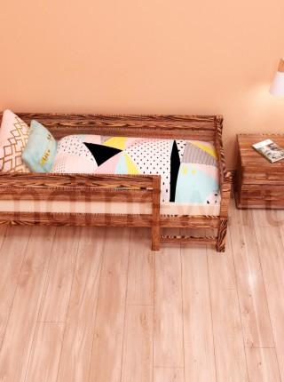 """Детская кровать MDF """"Сказка"""" с лестницей"""