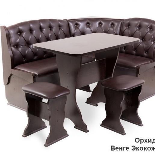 Кухонный уголок Орхидея Люкс ВЕНГЕ