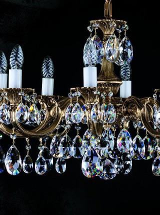 Люстра Artglass серия ALICE VIII