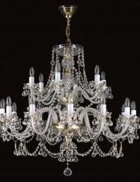 Большая хрустальная люстра Artglass серия ANDREA XVIII