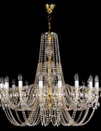 Большая хрустальная люстра Artglass серия ANDULA dia. 1000