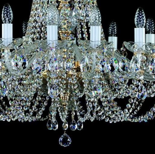 Хрустальная люстра Artglass серия ANGELIKA dia. 850