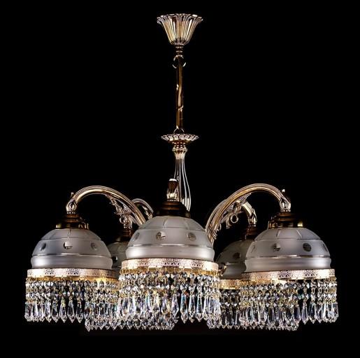 Люстра Artglass серия CASSANDRA V. white gold