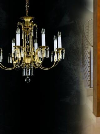Xрустальная люстра Artglass серия CELESTINA