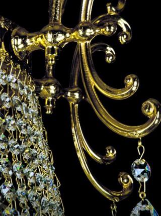 Большой хрустальный светильник Artglass серия CHERYL DIA 1100 CE