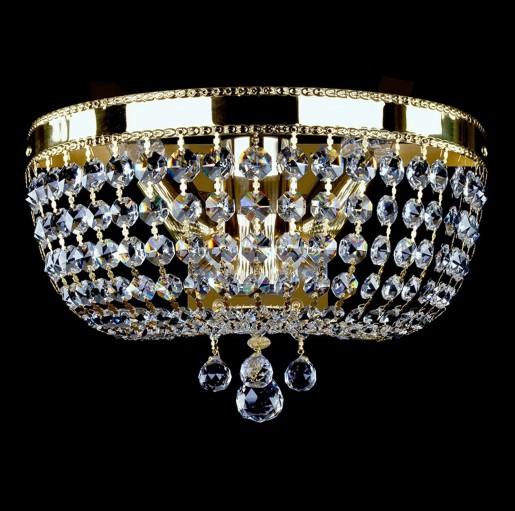 Хрустальное бра Artglass серия CIARA dia 350 WL