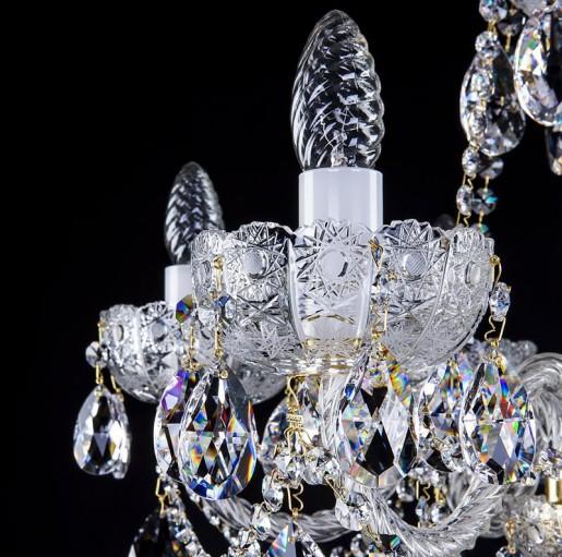 Хрустальная люстра Artglass серия CR 0004-06-20