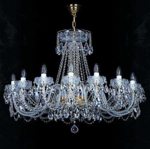 Большая хрустальная люстра Artglass серия CR 0004-16-20