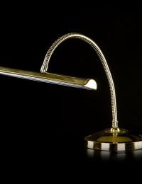 Латунная настольная лампа Artglass серия ENYA TL