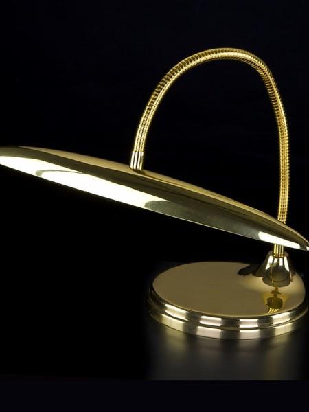 Латунная настольная лампа Artglass серия FILA TL
