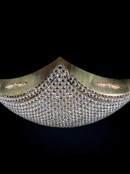 Большой хрустальный светильник Artglass серия FIONA 900x900