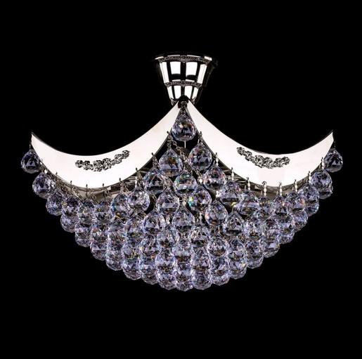 Хрустальный светильник Artglass серия FIONA II. nickel