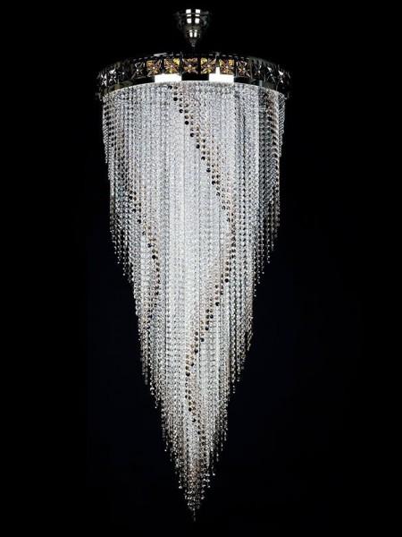 Хрустальный светильник Artglass серия FLAME 700x1600
