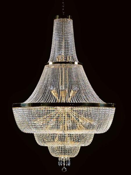 Большой хрустальный светильник Artglass серия GEMMA dia. 1100