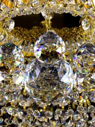 Большой хрустальный светильник Artglass серия GERTA dia. 1000