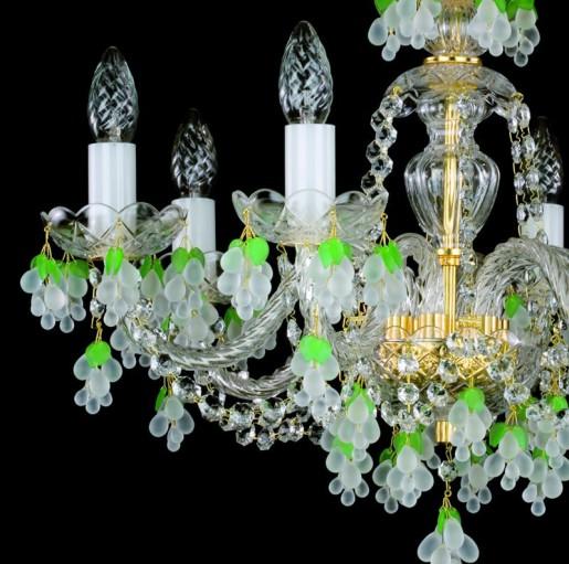 Хрустальная люстра Artglass серия GIZELA VI. white