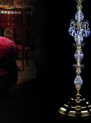 Хрустальный торшер Artglass серия INKA FL