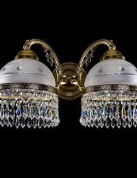 Бра латунное Artglass серия KARAT II. brass antique