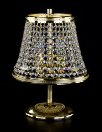 Хрустальная настольная лампа Artglass серия KLOTYLDA dia. 250 TL
