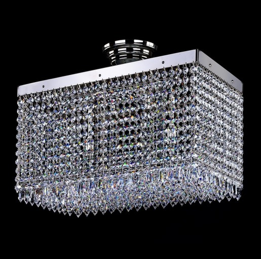 Хрустальный светильник Artglass серия LEANDRA 250x450 nickel