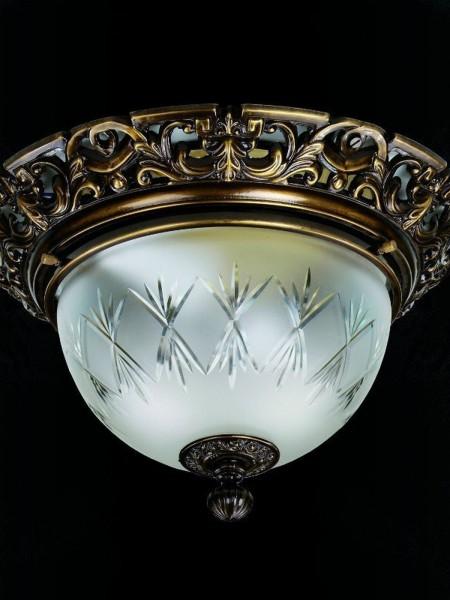 Cветильник Artglass серия LEA I. light patina