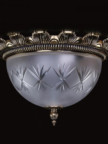 Cветильник Artglass серия LEA II. brass antique