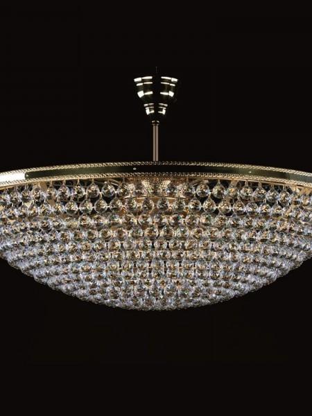 Большой хрустальный светильник Artglass серия LEILA dia. 1000