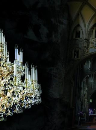 Хрустальная люстра Artglass серия MARIA TEREZIA 19