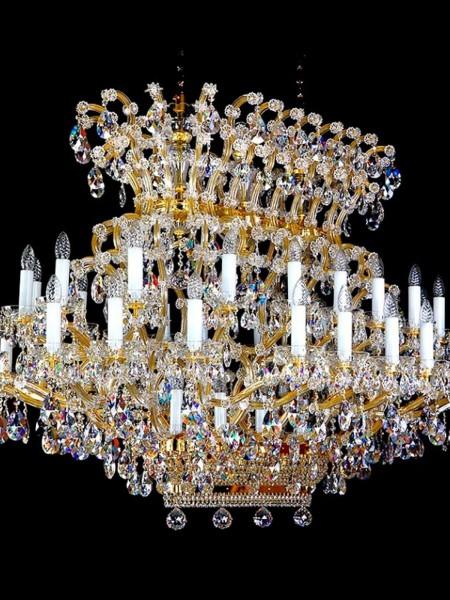 Хрустальная люстра Artglass серия MARIA TEREZIA 2000x1500x1100 CE