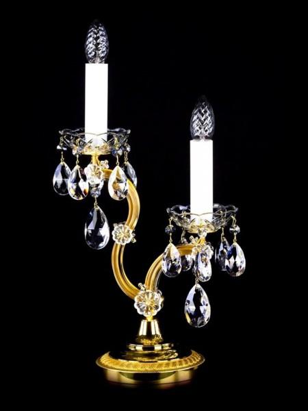 Хрустальная настольная лампа Artglass серия MARIA TEREZIA 23 TL