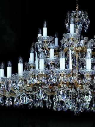 Хрустальная люстра Artglass серия MARIA TEREZIA 32