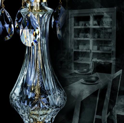 Хрустальная настольная лампа Artglass серия MARIA TEREZIA 38 TL