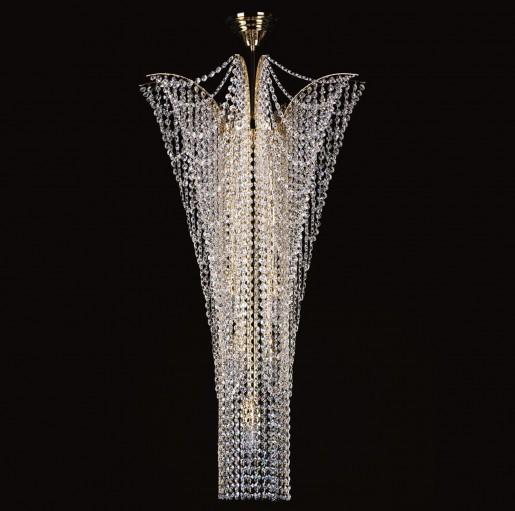 Хрустальный светильник Artglass серия MELANIE dia. 550x1000