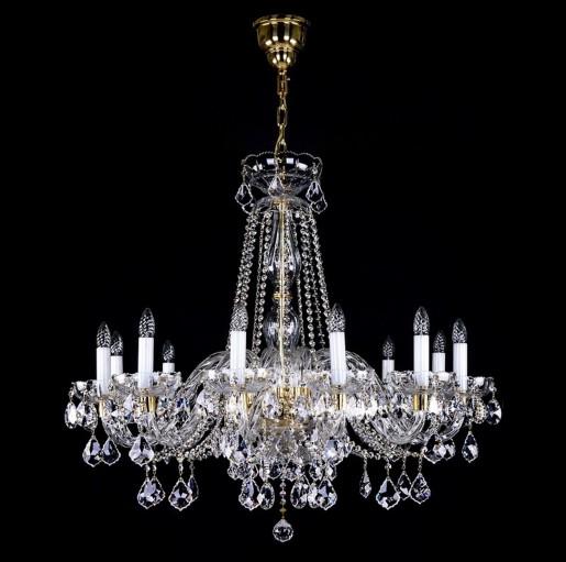 Большая хрустальная люстра Artglass серия MELINDA XII