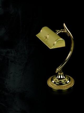 Латунная настольная лампа Artglass серия NOEMI I. TL