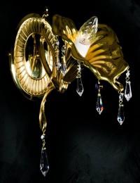 Бра латунное Artglass серия ORIANA I. WL