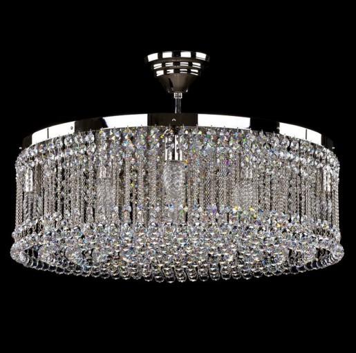 Хрустальный светильник Artglass серия PERSIDA nickel