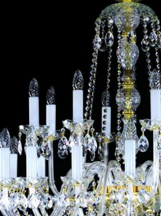 Большая хрустальная люстра Artglass серия RACHEL XXIV