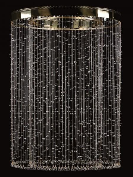 Большой хрустальный светильник Artglass серия RAMONA