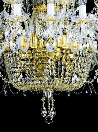Большая хрустальная люстра Artglass серия SARA XXXVI