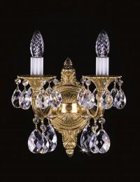 Бра латунное Artglass серия SARKA II. bras antique 8008 WL