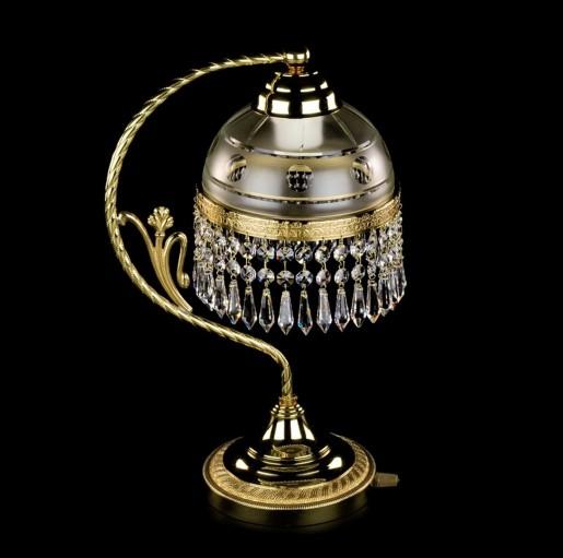 Латунная настольная лампа Artglass серия SCARLETT TL