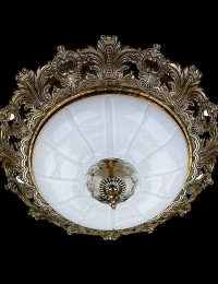 Хрустальный светильник Artglass серия SHARLEEN 470 Opal