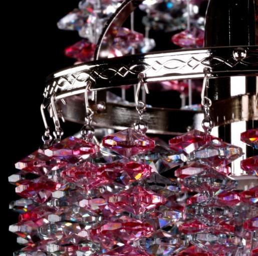 Хрустальный светильник Artglass серия SMALL GAME 01-05 COLOUR MIX